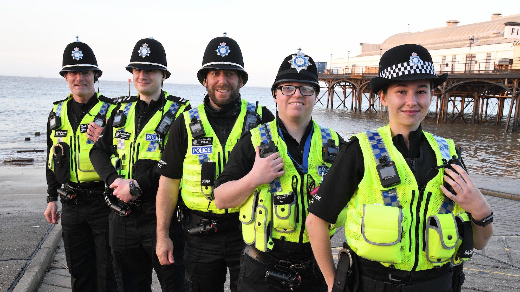 A team of special constables